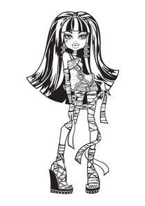 Coloriages Monster High A Imprimer Coloriages Dessins Animes