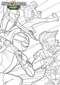 Coloriages Power Rangers Beast Morphers à Imprimer