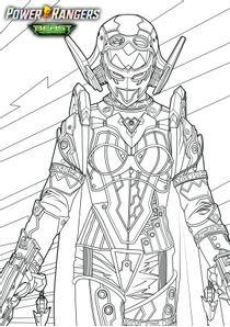 Coloriages Power Rangers Beast Morphers à Imprimer