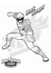 Coloriages Power Rangers Dinocharge à Imprimer Coloriages