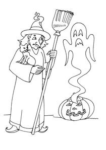 Coloriages D Halloween