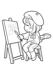 Coloriages Mangas A Imprimer Coloriages Personnages