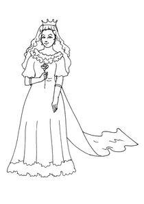 Coloriages Princesses A Imprimer Coloriages Personnages