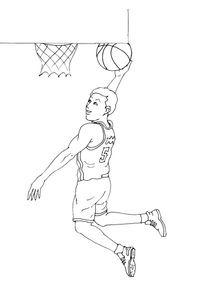 Coloriages Basket A Imprimer Coloriages Sports