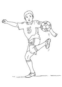 Coloriage Foot Mbappe.Coloriages Football A Imprimer Coloriages Sports