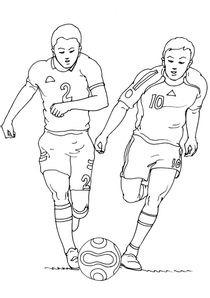 Coloriages Football A Imprimer Coloriages Sports