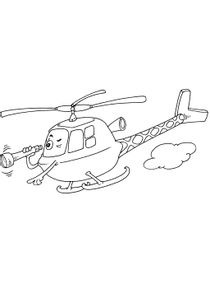 Coloriages Helicopteres A Imprimer Coloriages Transports