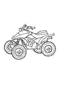 Coloriages Motos à Imprimer Coloriages Transports