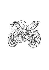 Coloriages Motos A Imprimer Coloriages Transports