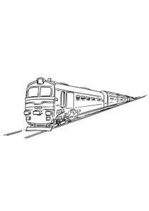 Coloriages Trains à Imprimer Coloriages Transports