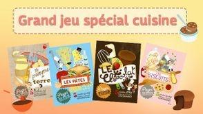 Jeu-concours spécial cuisine