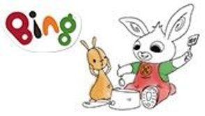 bing, personnages, tiji, héros, coloriages, dessins animés, lapin, enfants
