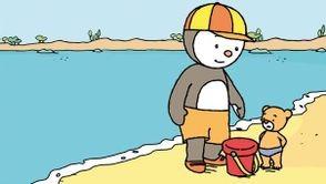 t'choupi à la plage