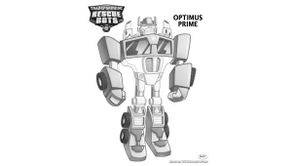 Coloriages Transformers Rescue Bots