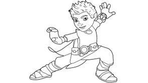 Coloriages Tree Fu Tom