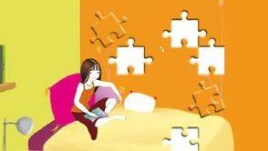 Museworld - jeu flash Puzzly Muses avec Jeanne Poésie