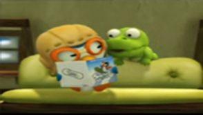 Pororo et Crong sont en train de lire