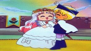Princesse Diamant danse avec le Prince