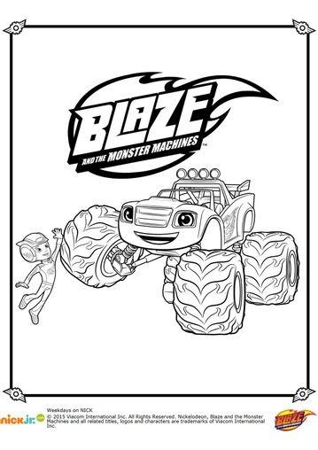 Blaze Et Les Monsters Machines Tout Sur Blaze Le Dessin Anime Qui Decoiffe