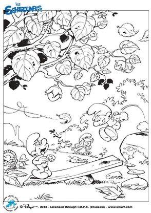 Coloriage Les Schtroumpfs Jeux Coloriage Les Schtroumpfs Coloriages Dessins Animes