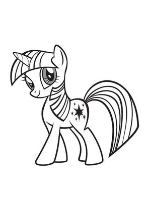 Coloriage My Little Pony 16 Coloriage My Little Pony