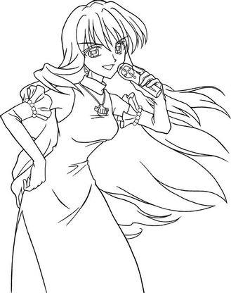 Coloriage Princesse Lina.Coloriage Pichi Pichi Pitch 11 Coloriage Pichi Pichi Pitch