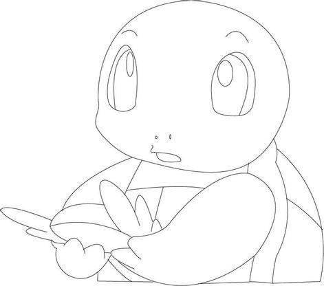 Coloriage Carapuce Coloriage Pokemon Coloriages Dessins Animes