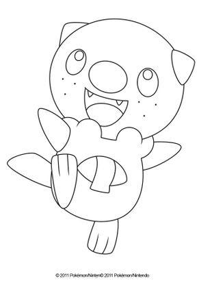 Coloriage Moustillon Coloriage Pokemon Coloriages Dessins Animes