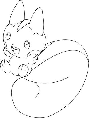 Coloriage Un Pokémon Trop Mignon Coloriage Pokemon