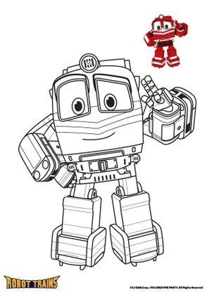 Coloriage Alf Coloriage Robot Trains Coloriages Dessins Animes