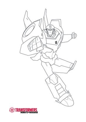 Coloriage Bumblebee 3 Coloriage Transformers Robots In