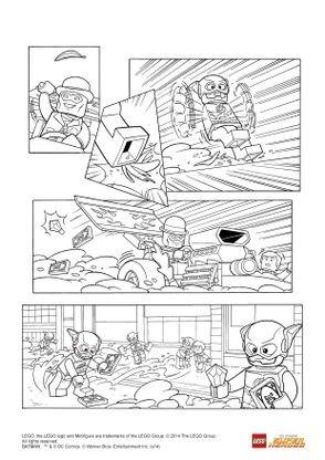 Coloriage Lego Batman 3 Flash Et L Homme Mystere Coloriage