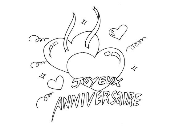 Coloriage Anniversaires 11 Coloriage Anniversaires Coloriages