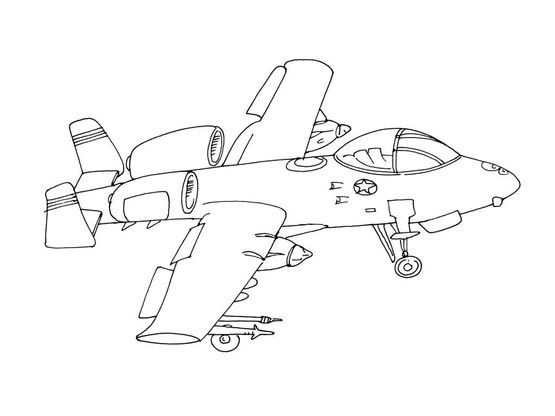 Coloriage Avion Armee.Coloriage Avion 15 Coloriage Avions Coloriages Transports