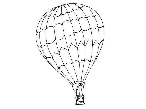 Coloriage Ballon Dirigeable 12 Coloriage Ballons Dirigeables Coloriages Transports