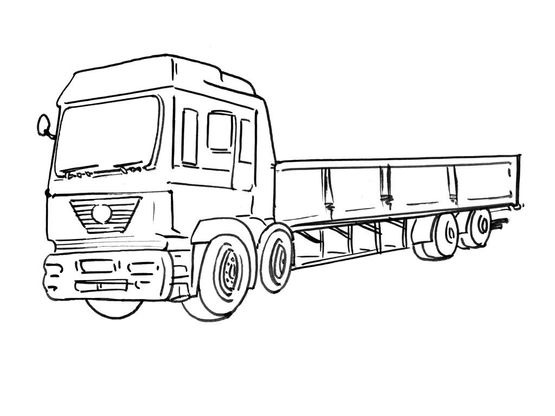 Coloriage Camion 9 Coloriage Camions Coloriages Transports