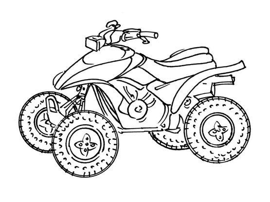 Coloriage Moto 12 Coloriage Motos Coloriages Transports