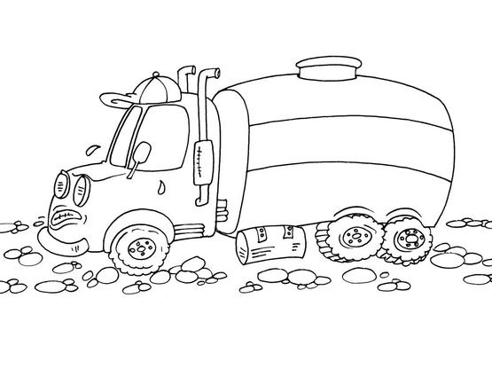 Coloriage Camion 27 - Coloriage Camions - Coloriages ...