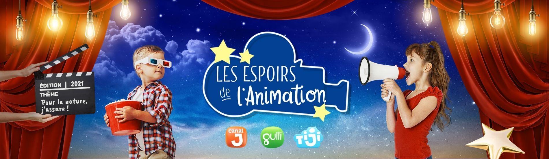 Les Espoirs de l'Animation 2021 en streaming sur Gulli Replay