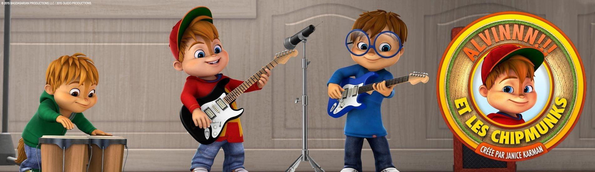 Alvinnn !!! Et les Chipmunks en streaming sur Gulli Replay