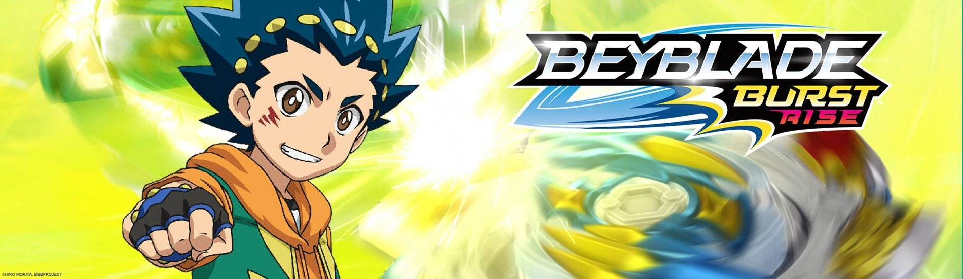 Beyblade Burst Rise  en streaming sur Gulli Replay