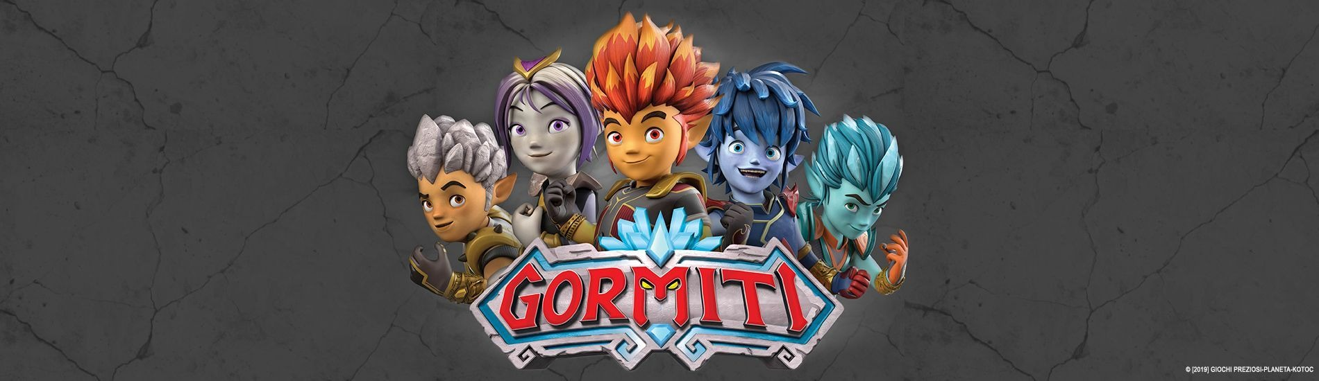 Gormiti en streaming sur Gulli Replay