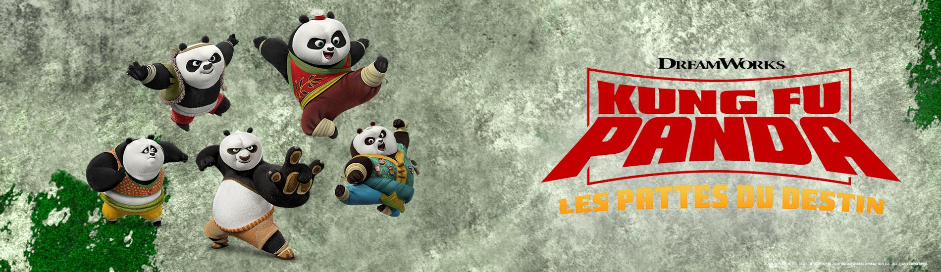 Kung Fu Panda : les pattes du destin  en streaming sur Gulli Replay
