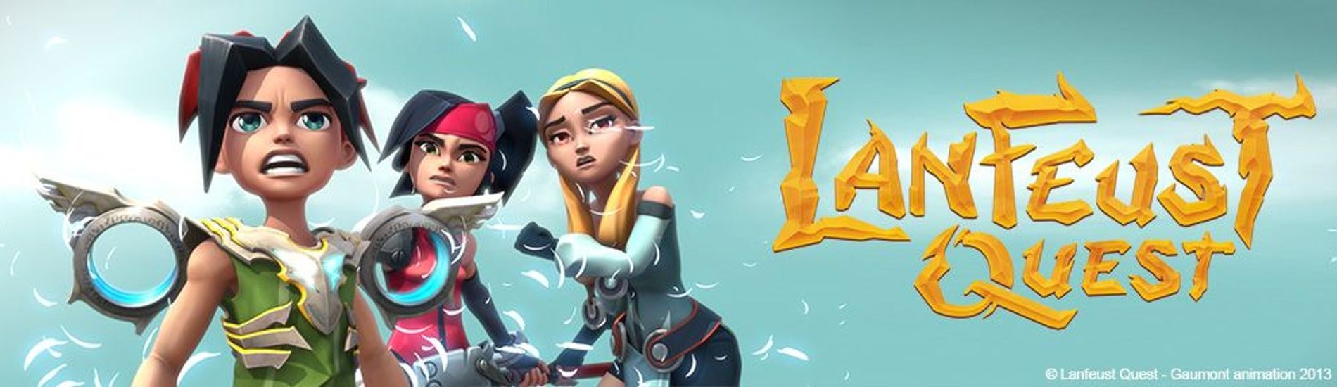 Lanfeust Quest en streaming sur Gulli Replay