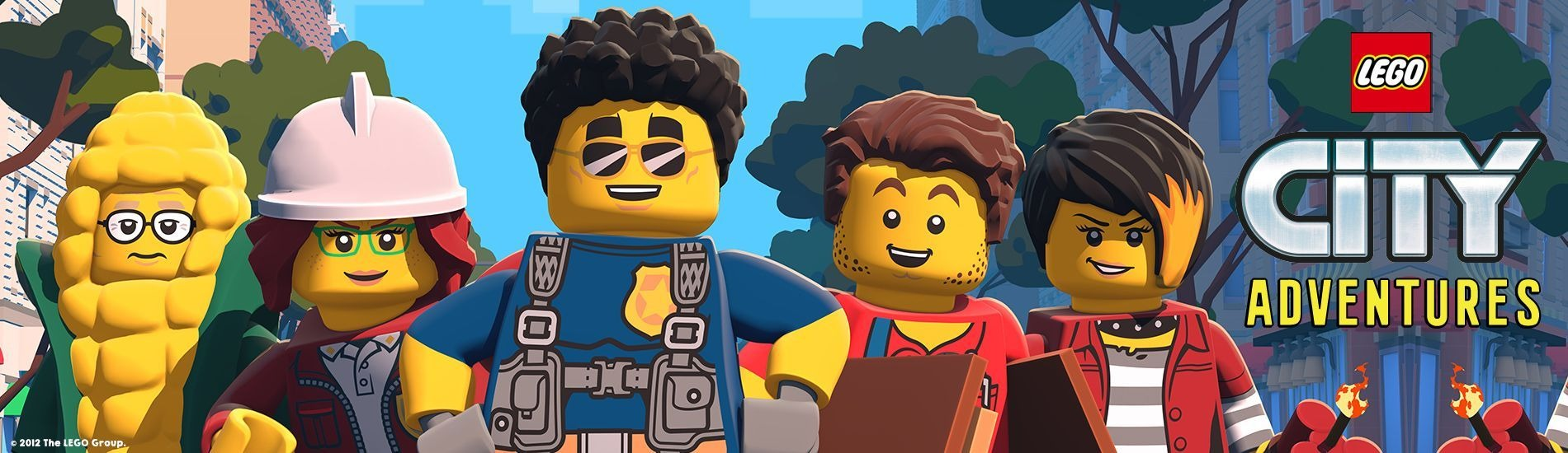LEGO City Adventures en streaming sur Gulli Replay