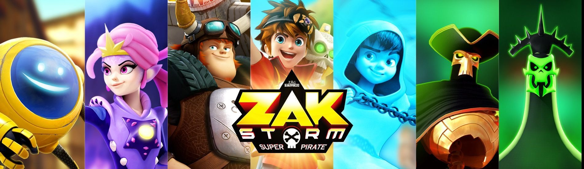 Zak Storm, super Pirate en streaming sur Gulli Replay