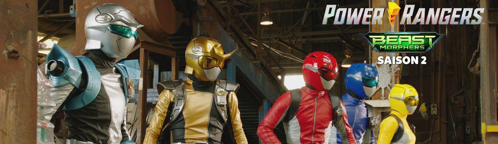 Power Rangers Beast Morphers en streaming sur Gulli Replay