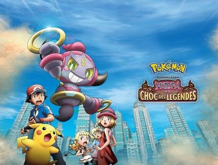 Pokémon le film : Hoopa et le choc des légendes