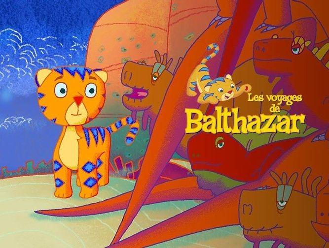 Balthazar et le caméléon
