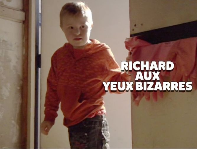 Richard aux yeux bizarres
